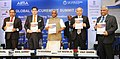 "P. Radhakrishnan releasing the publication at the inauguration of the 'Global Procurement Summit 2018' on ""New Frontiers faced in the Transformation process of Procurement Today"", in New Delhi.jpg"