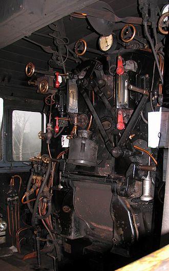 Prussian P 8 - P8 driver's cab