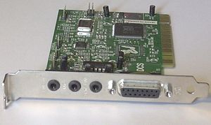 Yamaha XG - A PCI sound card with Yamaha XG YMF724E-V chipset.
