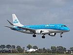 PH-EXG KLM Cityhopper Embraer ERJ-175STD (ERJ-170-200) landing at Schiphol (EHAM-AMS) runway 18R pic1.JPG