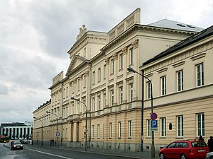 Collegium Nobilium (Warsaw) - Building of the Collegium Nobilium today