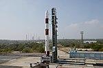 PSLV-C44 at First Launch Pad SDSC SHAR Sriharikota 06.jpg