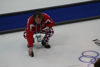 Pål Trulsen Norwegian curler and Olympic gold medalist