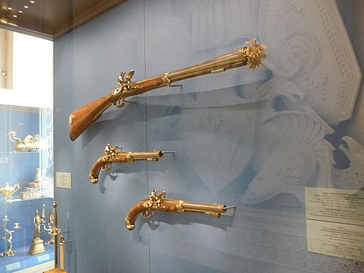 Weaponry Exhibition at the Hermitage Museum in Russia