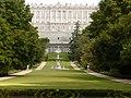 Palacio Real, panorama, Campo del Moro, Madrid, España, 2015.jpg