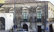 Palazzo Drammis.