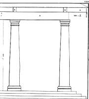 The Tuscan order in Andrea Palladio, Quattro Libri di Architettura, 1570