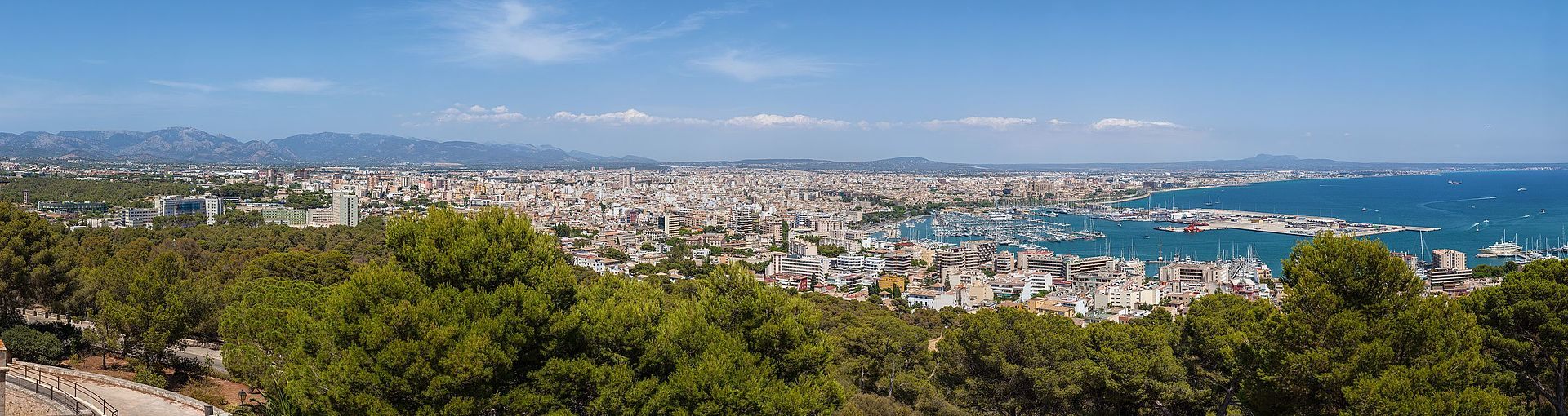 Palma from Bellver Castle