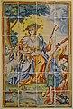 Panell ceràmic amb la divina Pastora, Museu de Ceràmica de València.JPG