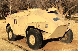 Panhard M3 - M3 VTT at Tempe School of Armour, Bloemfontein