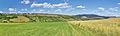 Panoramatický pohled na Strání od severozápadu, okres Uherské Hradiště (02).jpg