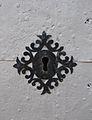 Pany de la porta de l'església de santa Anna, Quatretondeta.JPG