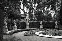 La fontana delle quattro stagioni in una foto di Paolo Monti del 1967