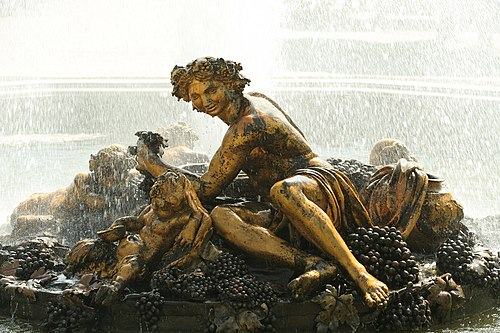 Parc de Versailles, Bassin de Bacchus, Balthazar et Gaspard Marsy, (1672–75) 05