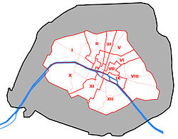 Arrondissements Of Paris Wikipedia