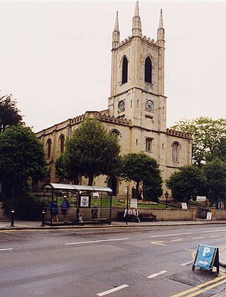 Windsor, Berkshire - St John the Baptist's parish church