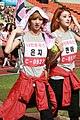 Park Eun-ji and Moon Hyun-a at 2011 Idol Championship 02.jpg