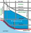 Parkdale Toronto map.png