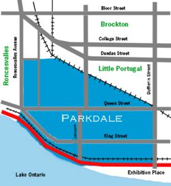 Parkdale neighbourhood