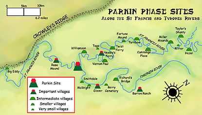 State Parks In Arkansas Map.Parkin Archeological State Park Wikipedia