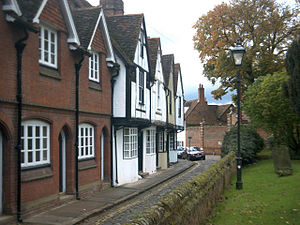 Architecture of Aylesbury - Houses in Parson's Fee