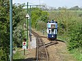 Passing loop on the Seaton tramway - geograph.org.uk - 1285555.jpg