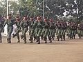 Pasukan tni ad sebagai pasukan 45 pada saat pengibaran bendera duplikat pusaka HUT RI.jpg