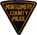 Patch of the Montgomery County Police Department (1939-1955).png