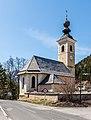 Paternion Kreuzen 16 Pfarrkirche hll. Veit und Leonhard NO-Ansicht 06042018 2859.jpg