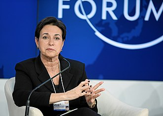 Patricia A. Woertz - Woertz during the WEF 2012
