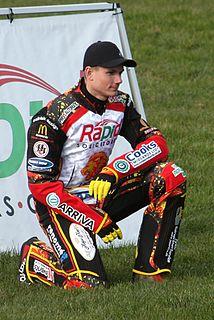 Patrick Hougaard Danish speedway rider