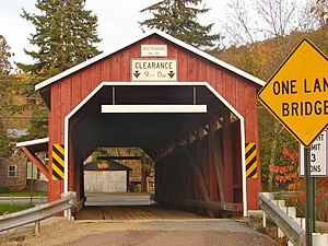 Patterson Covered Bridge No. 112 - Patterson Covered Bridge, October 2011