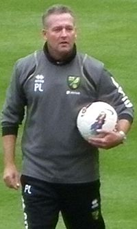 Paul Lambert als manager van Norwich City