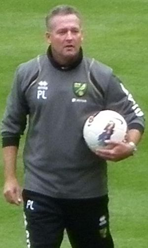 Paul Lambert - Lambert managing Norwich City in 2011