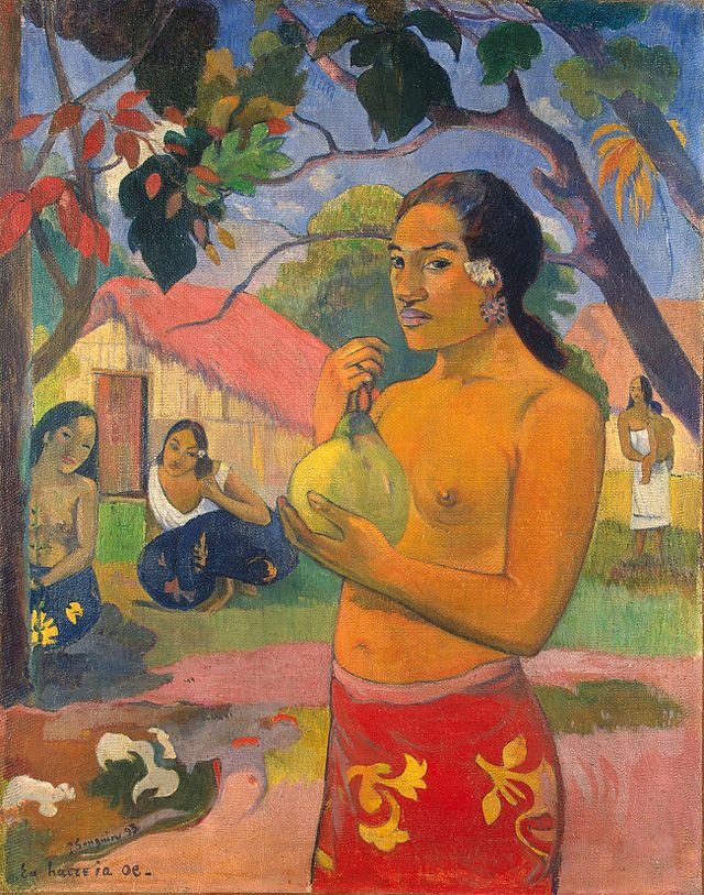 640px-Paul_Gauguin_128 - Nafea Faa Ipoipo? - Lifestyle, Culture and Arts