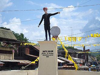 Lamitan - Datu Kalun (Pedro Cuevas) Shrine in Lamitan City, founder of Lamitan