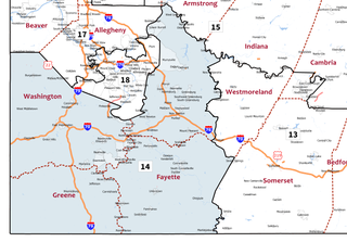 Pennsylvanias 14th congressional district U.S. House district for Pennsylvania