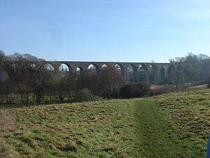 Chew Valley - Railway viaduct at Pensford (disused)