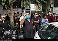 People gathering outside the Jam Hospital following the death of Mohammad-Reza Shajarian 2020-10-08 38.jpg