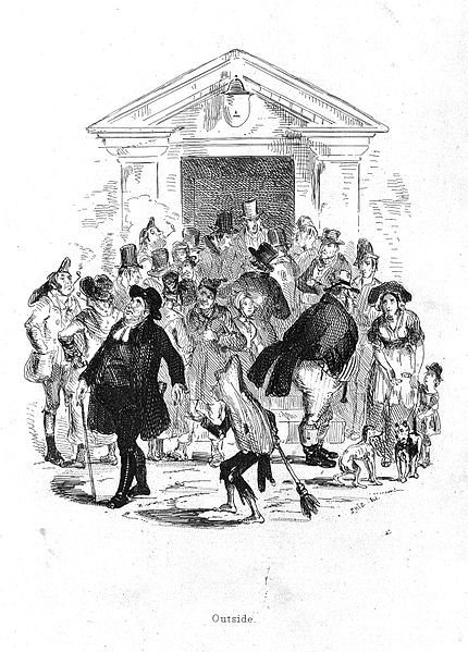 File:People outside a workhouse, 1840 Wellcome L0012014.jpg