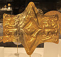 Perù, chavìn, pettorale, IX-II sec ac, oro sbalzato.JPG