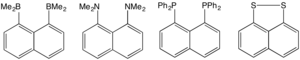 Peri-naphthalenes - Four peri-naphthalene derivatives.