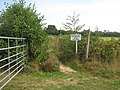 Permissive path in Brenchley - geograph.org.uk - 1436160.jpg