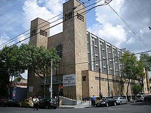 Colonia Algarín - Nuestra Señora de Perpetuo Socorro Parish, on J. E. Hernández y Dávalos St.