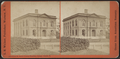 Perry H. Smith library, Hamilton College, Clinton, N.Y, by Walker, L. E., 1826-1916.png