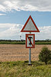 Perspective-based no anchoring signs near Großenbrode, Germany 20140811 1.jpg