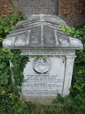 Peter Borthwick - Funerary monument, Brompton Cemetery, London