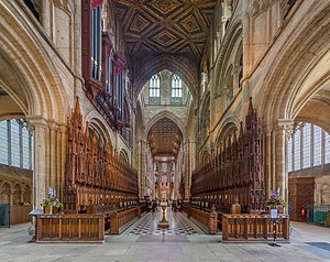 Peterborough Cathedral - The choir