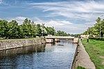 Petrovsky Dock channel in Kronstadt.jpg