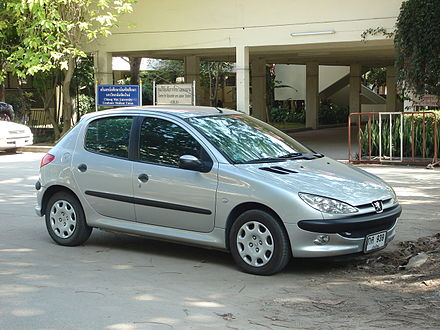The Peugeot 206 was the last car assembled at Ryton. Peugeot 206 1.jpg